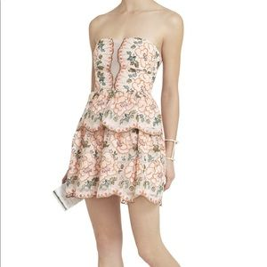 NWOT BCBG Strapless Dress size 0